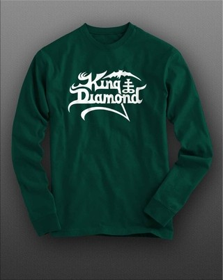Camiseta manga longa King Diamond KIML0005