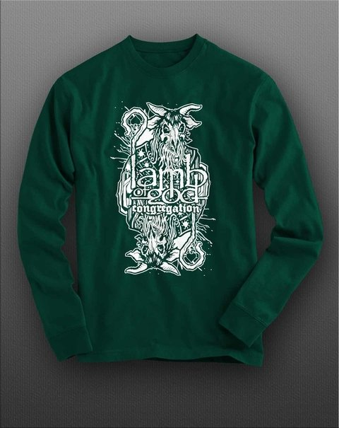 Camiseta Manga Longa Lamb Of God - LAML0002 - ZN STORE