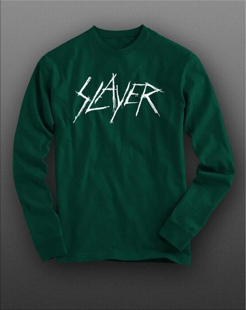 Camiseta manga longa Slayer - SLML0001