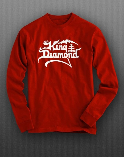 Camiseta manga longa King Diamond KIML0002