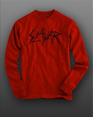 Camiseta manga longa Slayer - SLML0002