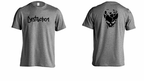 Camiseta Destruction - DE0003