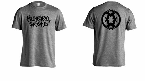 Camiseta Municipal Waste - MW0003