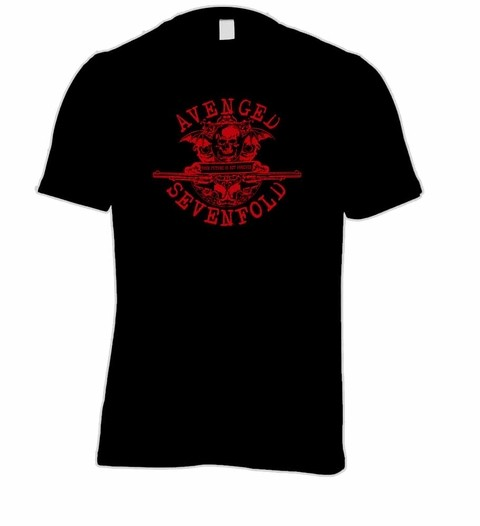Camiseta Avenged Sevenfold - AV0001 na internet