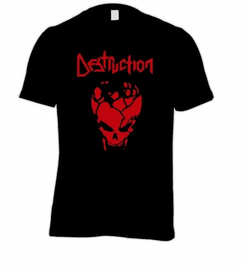 Camiseta Destruction - DE0002 na internet