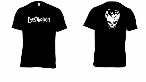 Camiseta Destruction - DE0003 - comprar online
