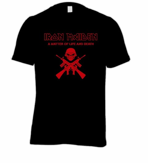 Camiseta Iron Maiden - IM00002 na internet