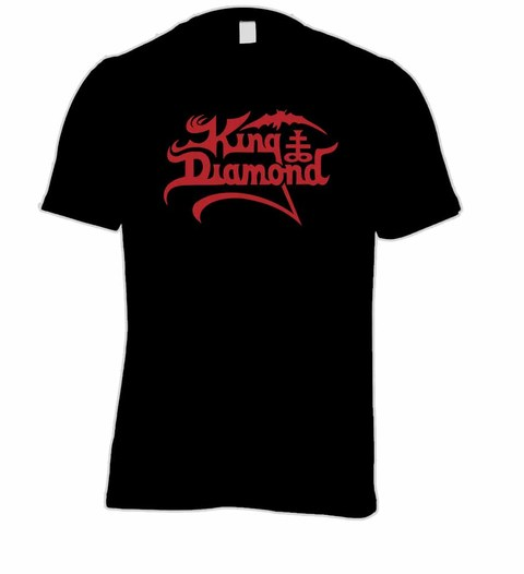 Camiseta King Diamond KD0001 na internet