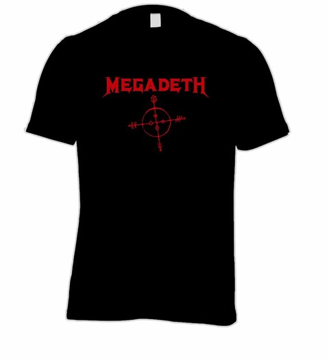 Camiseta Megadeth MG0001 na internet