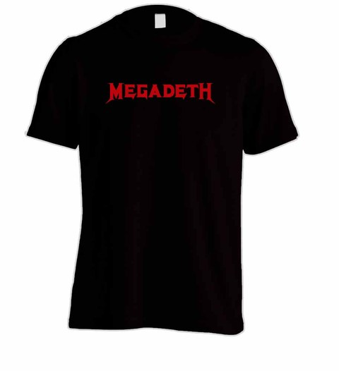 Camiseta Megadeth MG0002 na internet