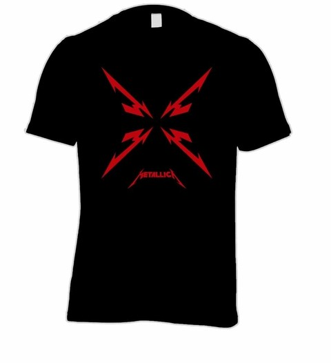 Camiseta Metallica ME0001 na internet