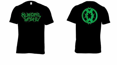 Camiseta Municipal Waste - MW0003 na internet