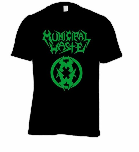 Camiseta Municipal Waste - MW0001 na internet