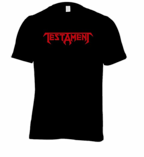 Camiseta Testament TE0001 na internet