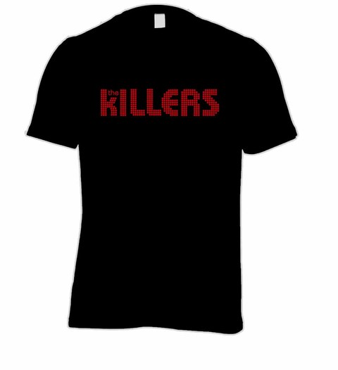 Camiseta The Killers - TK0001 na internet