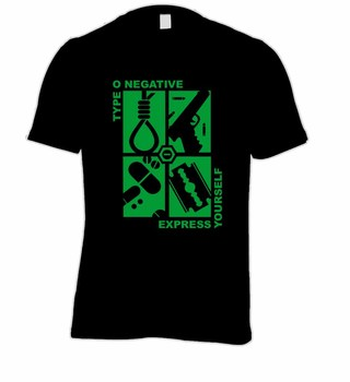 Camiseta Type O Negative - TY0001 na internet