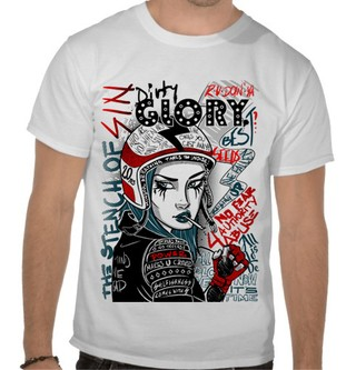 Camiseta Dirty Glory - DG00002