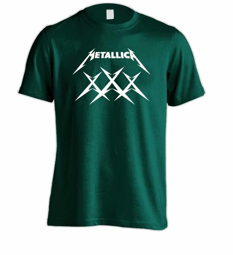 Camiseta Metallica ME00004 na internet