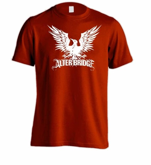 Camiseta Alter Bridge - AB00003 - ZN STORE