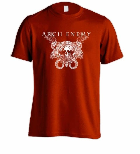 Camiseta Arch Enemy - AE00002 na internet