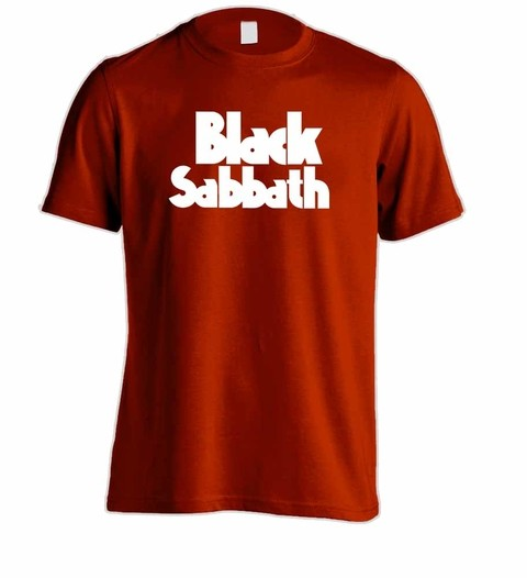 Camiseta Black Sabbath - BS0001 - loja online