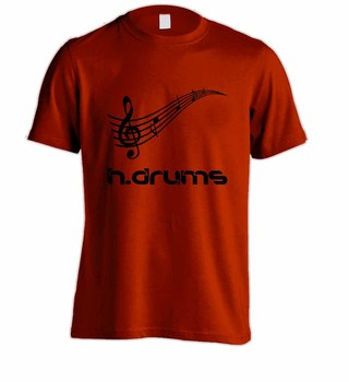 Camiseta H.DRUMS HD0060 na internet