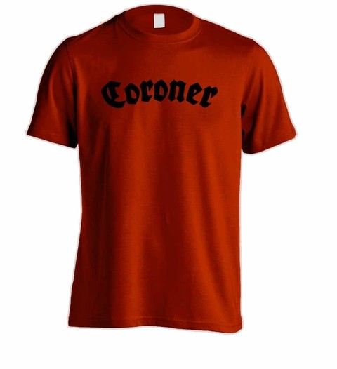Camiseta Coroner - CO0001 - ZN STORE