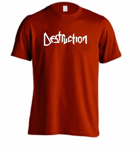 Camiseta Destruction - DE0001 na internet