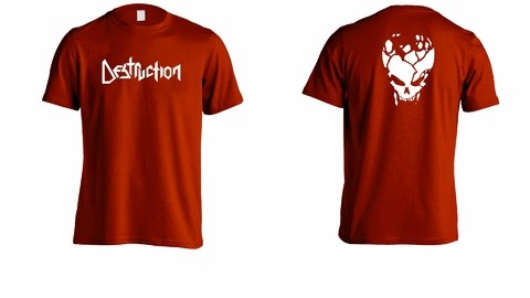 Camiseta Destruction - DE0003 na internet