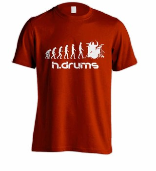 Camiseta H.DRUMS HD0012