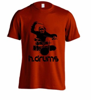 Camiseta H.DRUMS HD0048 na internet