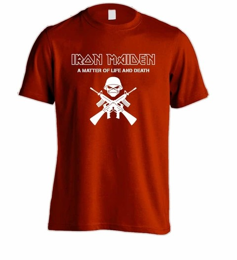 Camiseta Iron Maiden - IM00002 - ZN STORE