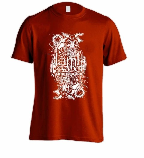 Camiseta Lamb of God - LA0002 - loja online