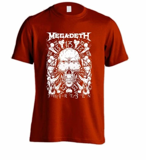 Camiseta Megadeth MG0003 na internet
