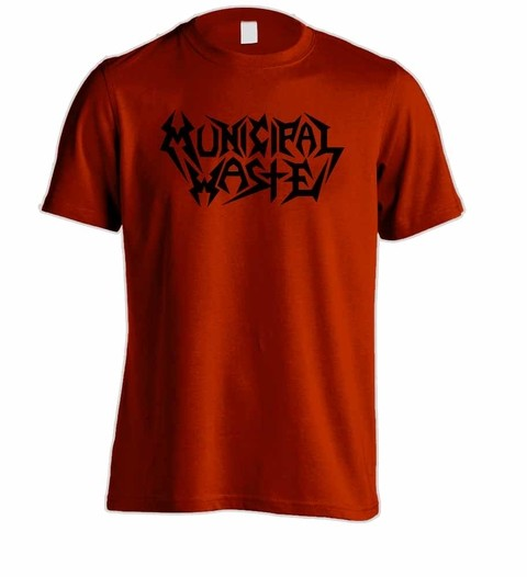 Camiseta Municipal Waste - MW0002 - ZN STORE