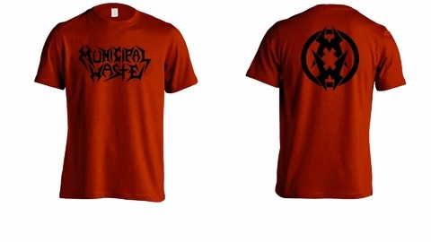 Camiseta Municipal Waste - MW0003 - ZN STORE