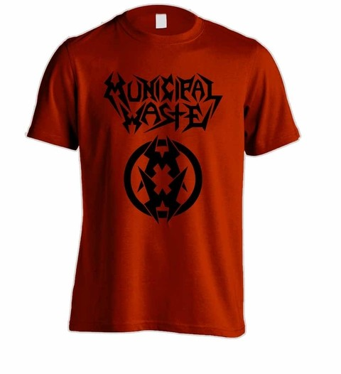 Camiseta Municipal Waste - MW0001 - ZN STORE