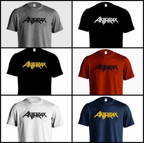 Camiseta Anthrax - AN0001