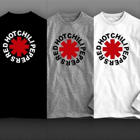 Camiseta manga longa Red Hot Chili Peppers - RHML0002