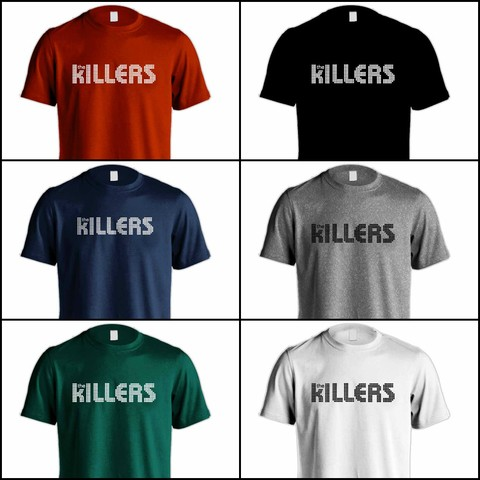 Camiseta The Killers - TK0001