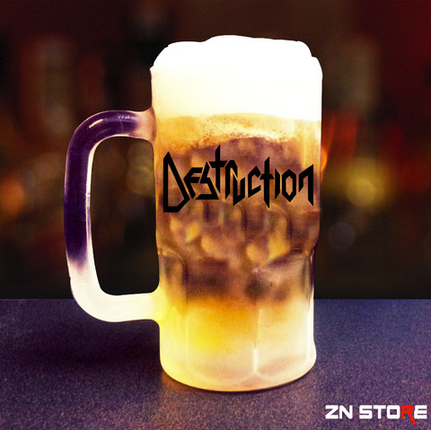 Caneca de Chopp Vidro Destruction - DS00001pp