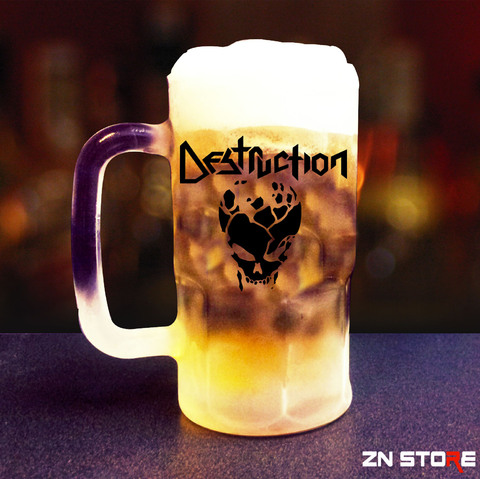 Caneca de Chopp Vidro Destruction - DS00002pp