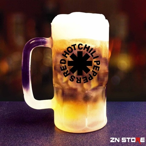 Caneca de Chopp Vidro Red Hot Chili Peppers - RH0001pp - comprar online