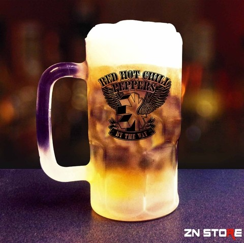 Caneca de Chopp Vidro Red Hot Chili Peppers - RH0002pp - comprar online