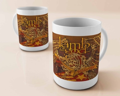 Caneca Lamb of God - LA0001cn