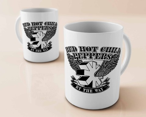 Caneca Red Hot Chili Peppers - RH0001cn - comprar online
