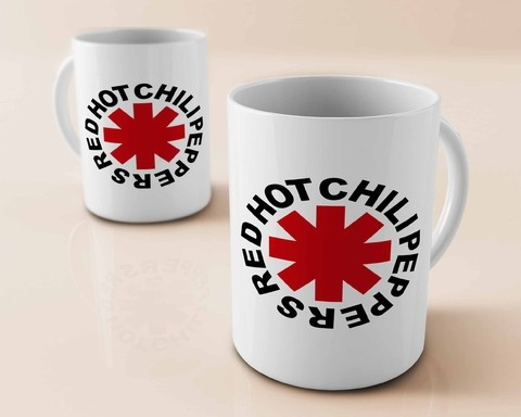 Caneca Red Hot Chili Peppers - RH0002cn - comprar online