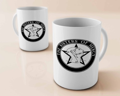 Caneca The Sisters Of Mercy - SM0001cn - comprar online