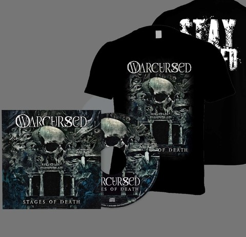KIT Camiseta + CD Warcursed - Stages of Death - WAKIT0001 - comprar online