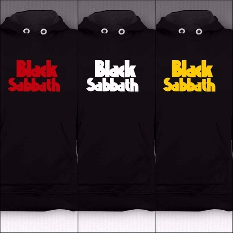 Moletom Canguru Black Sabbath - BSMO0002